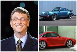 Bộ sưu tập siêu xe gần trăm tỷ đồng của Bill Gates
