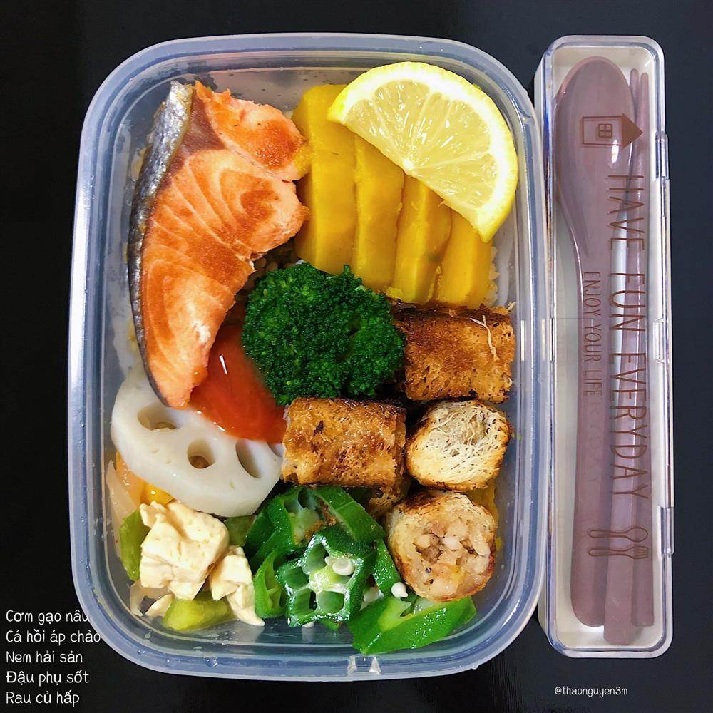 Những hộp cơm trưa đầy màu sắc của cô nàng nghiên cứu sinh tại Nhật-6