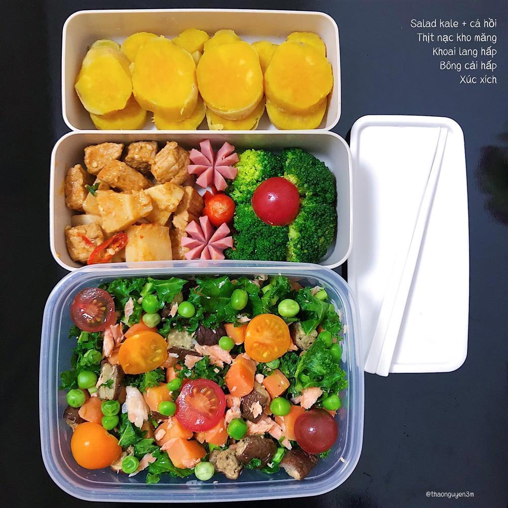 Những hộp cơm trưa đầy màu sắc của cô nàng nghiên cứu sinh tại Nhật-7