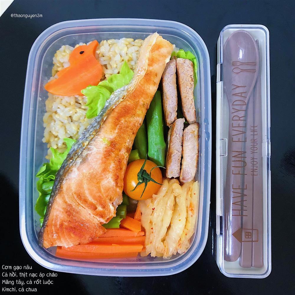 Những hộp cơm trưa đầy màu sắc của cô nàng nghiên cứu sinh tại Nhật-8