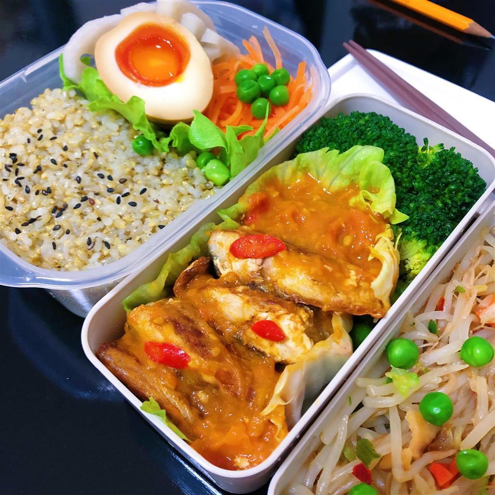 Những hộp cơm trưa đầy màu sắc của cô nàng nghiên cứu sinh tại Nhật-10