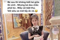 Con gái bị mỉa mai giàu mà xấu, Đoàn Di Băng đăng ảnh 'tế' antifan