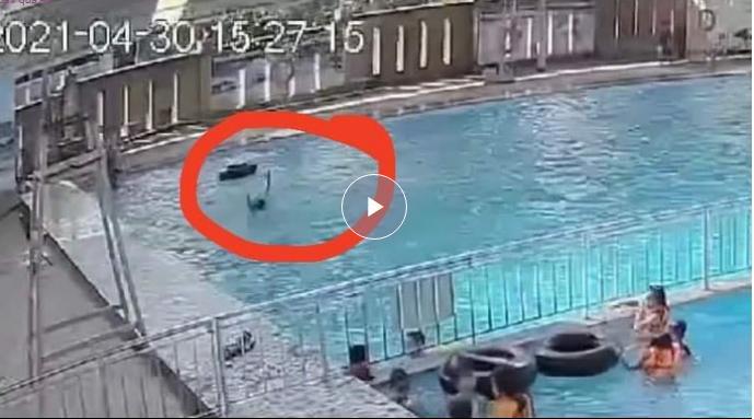Chấn động: Giữa hồ bơi đông người, thanh niên chết đuối mà không ai biết-2
