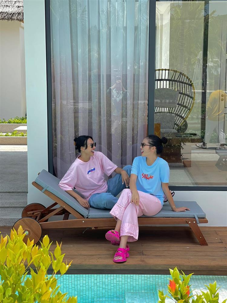 Kỳ Duyên mừng sinh nhật mẹ Minh Triệu, ai nấy để ý cách xưng hô-7