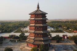 Ngôi đền gỗ cao nhất thế giới