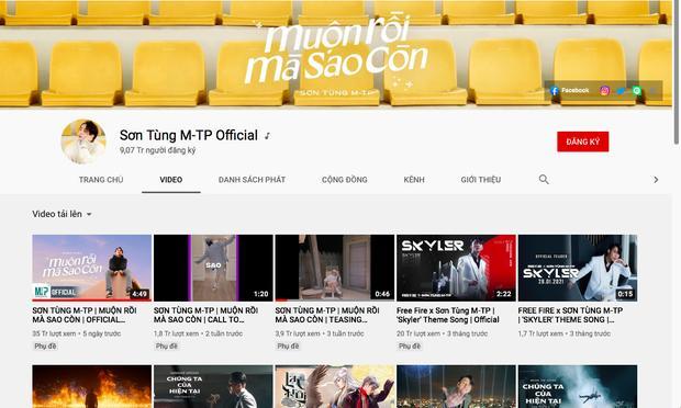 Sơn Tùng M-TP xác lập kỷ lục Vbiz, cán mốc 9 triệu subscribe YouTube-4
