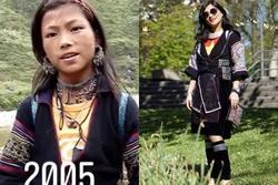 Mặc lại chiếc váy 16 năm trước, 'cô bé H'Mông' giờ đây khó nhận ra!
