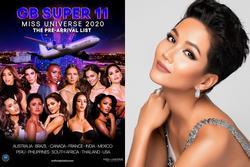 H'Hen Niê bị nhắc nhở chưa đủ quyền xếp hạng thí sinh Miss Universe