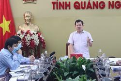 Một cán bộ tỉnh Quảng Ngãi là F1, nhiều lãnh đạo chủ chốt phải cách ly
