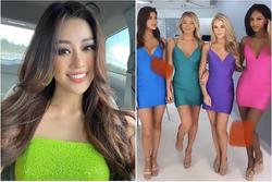 Trang phục mở màn của thí sinh Miss Universe bị chê như 'đầm rót bia rẻ tiền'