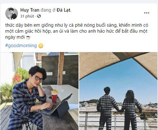 Gửi ngôn tình cho Ngô Thanh Vân, Huy Trần lộ chuyện sống chung?-1