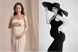 Phanh Lee khoe bụng bầu tháng thứ 7, sắc vóc còn 'đỉnh chóp' khi tăng 10kg?
