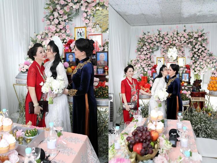 Ông Dũng Lò Vôi tổ chức lễ đính hôn cho con trai riêng bà Phương Hằng-5