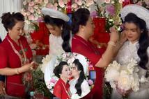 Clip: Màn trao hồi môn toàn kim cương vợ ông Dũng 'Lò Vôi' tặng con dâu