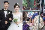 Hàng xóm 'giải cứu' 150 mâm cỗ cho đôi vợ chồng hoãn cưới vì dịch