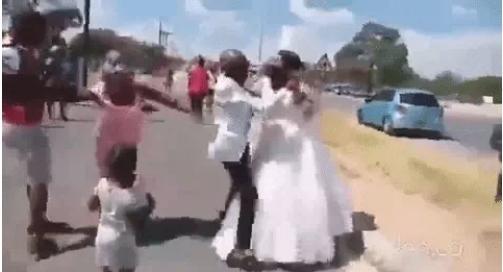 Đám cưới đang diễn ra thì 1 phụ nữ xuất hiện hét to làm quan khách sững sờ-2