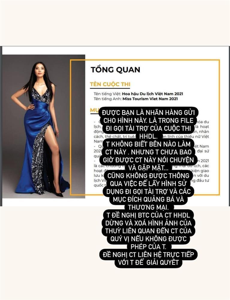 Hoàng Thùy tố cáo cuộc thi Hoa hậu Du lịch Việt Nam 2021-1