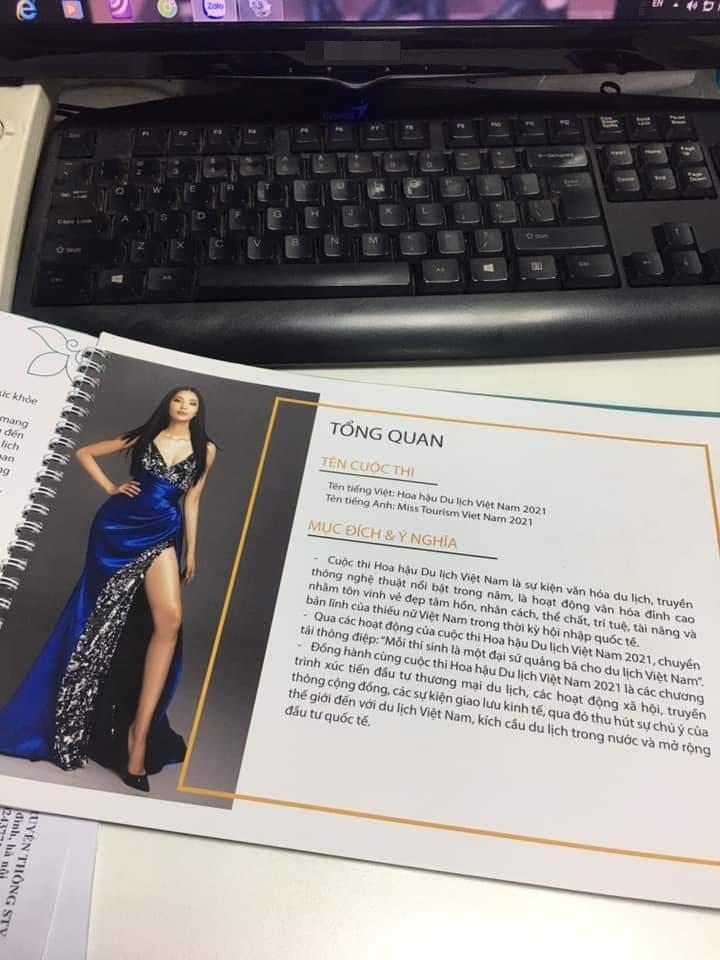 Hoàng Thùy tố cáo cuộc thi Hoa hậu Du lịch Việt Nam 2021-2