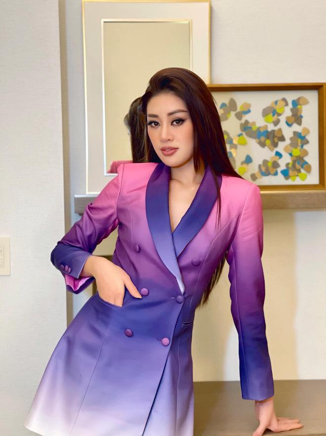 Vừa tới Mỹ thi Miss Universe, Khánh Vân bị chỉ trích vì khóc trên livestream-3