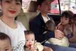Cuộc sống 'chóng mặt' của bà mẹ Hà Nam mang thai hiếm '8 nghìn ca có một'