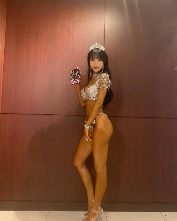 Sao nữ Hàn chuyên trị vai ma chê quỷ hờn đập đi xây lại thành VĐV thể hình quyến rũ-2