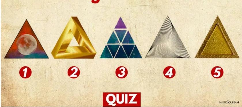 Hình tam giác yêu thích tiết lộ điều bạn coi trọng trong cuộc sống-1