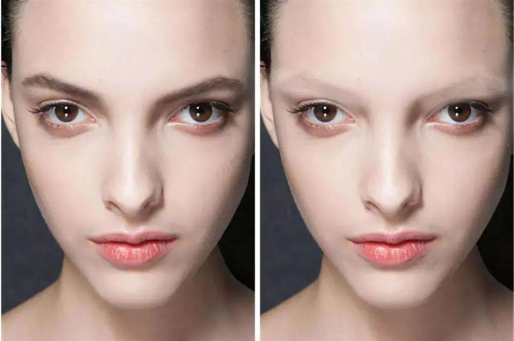 Lông mày phù hợp F5 gương mặt thần kỳ hơn cả phẫu thuật thẩm mỹ-1