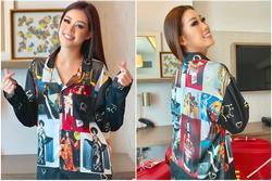 Khánh Vân khiến fan Việt rần rần chỉ vì bộ đồ ngủ tại Miss Universe 2020