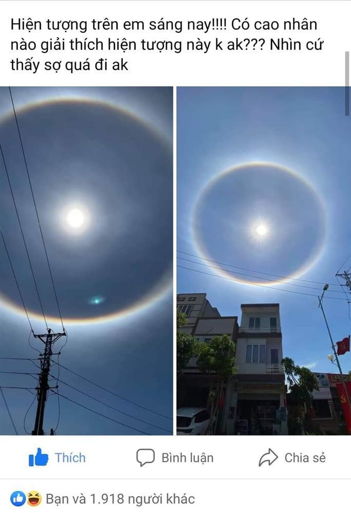 Sự thật vòng tròn như hành tinh lạ xuất hiện trên trời nhiều ngày nay-1