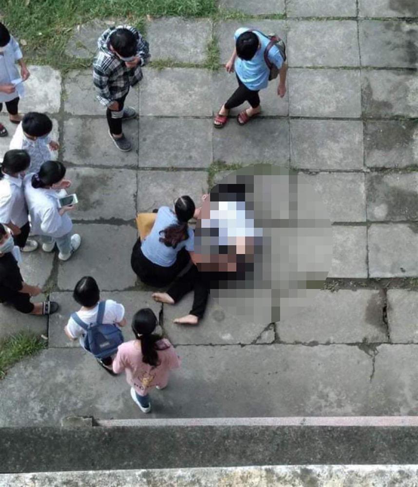 Nghi vấn nữ sinh cấp 3 nhảy lầu tự tử vì bị giáo viên bắt tài liệu thi-1