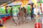 Clip: Đi đám cưới, nhóm bạn trẻ ôm nhau nằm lăn giữa bãi sình lầy