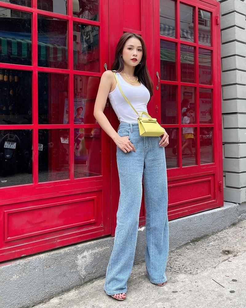 Street style: Thúy Vi trên đông dưới hè - Chi Pu khoe lưng trần gợi cảm-8