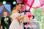 Hồ Bích Trâm đáp trả nghi vấn bị chồng lạnh nhạt trong lễ cưới-2