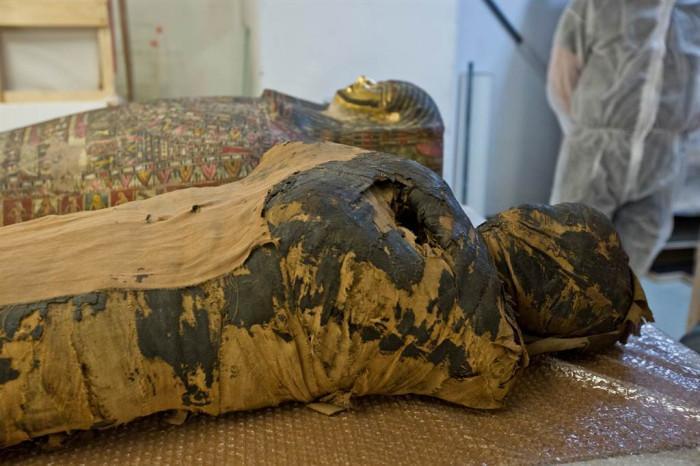 Xác ướp mang thai đầu tiên trên thế giới được khai quật-1