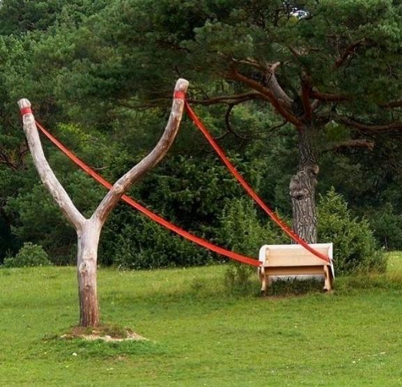 Các băng ghế thiết kế độc lạ khiến ai đi qua cũng lưỡng lự nên ngồi hay thôi-6