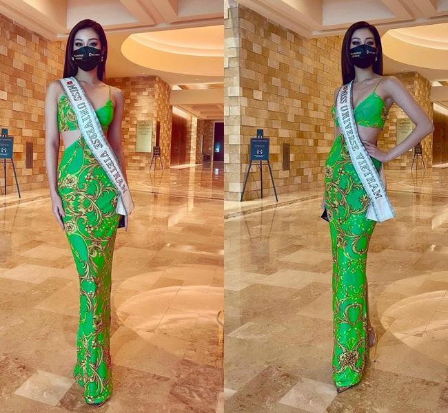 Khánh Vân lấy điểm 10 tinh tế khi nhập cuộc Miss Universe 2020-4