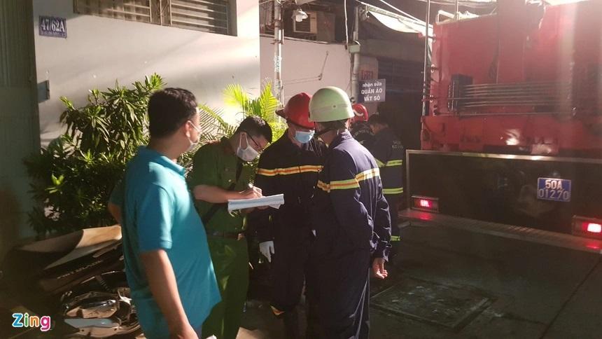 Nhân chứng vụ cháy làm 8 người chết: Họ ở tầng 1 nên chạy ra không kịp-2