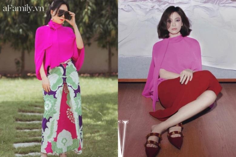 Phượng Chanel đụng hàng Song Hye Kyo: Lên đời style nhưng vẫn lép vế-5