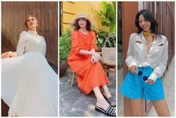 Street style: Võ Hoàng Yến hóa nàng thơ - Minh Triệu diện áo khoét ngực chất chơi