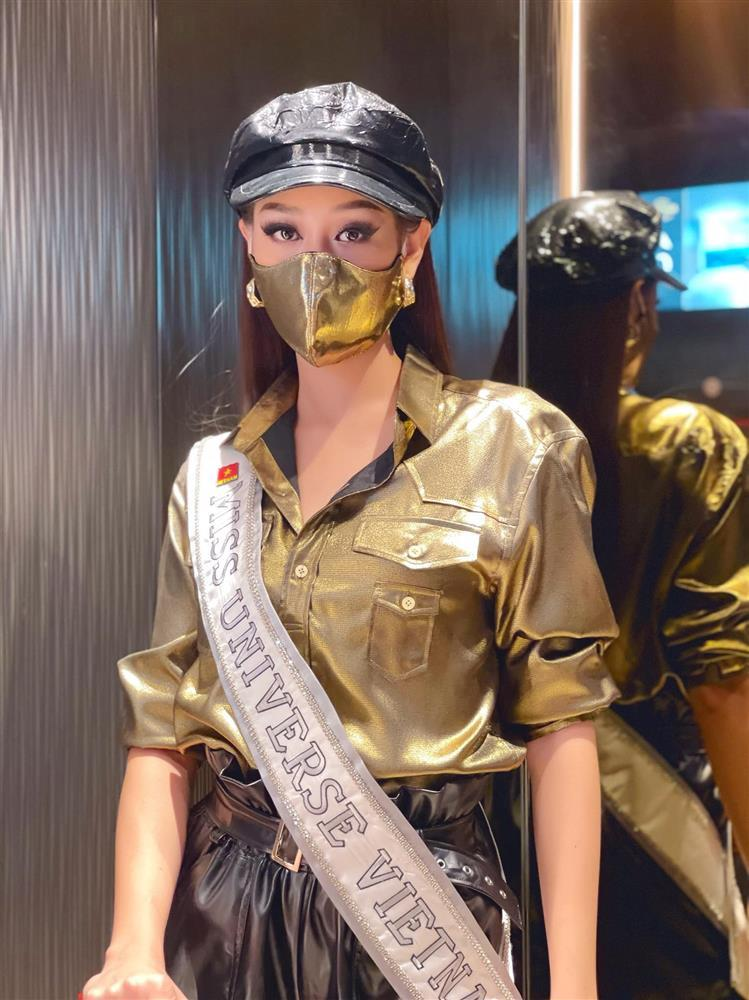 Đối thủ mạnh bậc nhất Miss Universe 2020 trầm trồ vì Khánh Vân-2