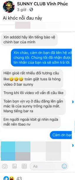 Sự thật về clip nhân viên bar Sunny Vĩnh Phúc thác loạn với khách-2