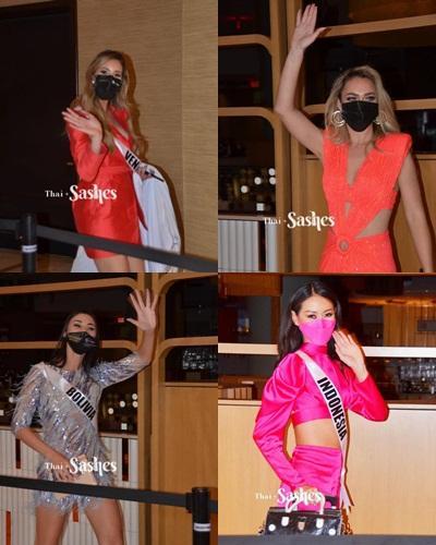 Đối thủ Khánh Vân tại Miss Universe để phóng viên phải đuổi theo phỏng vấn?-2
