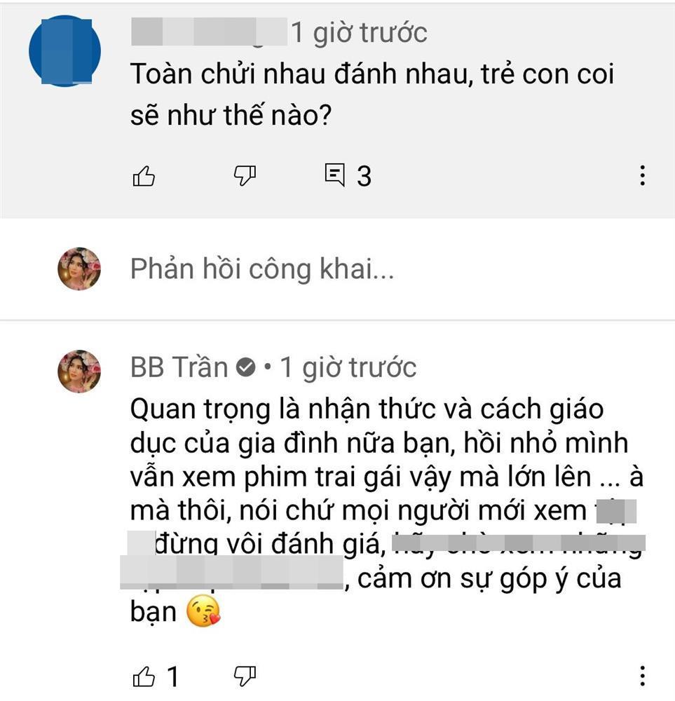 BB Trần đáp trả chỉ trích dạy hư trẻ con-3