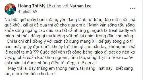 Nathan Lee tuyên chiến Thu Minh, Mỹ Lệ: Tự dưng đào mồ quá khứ-3