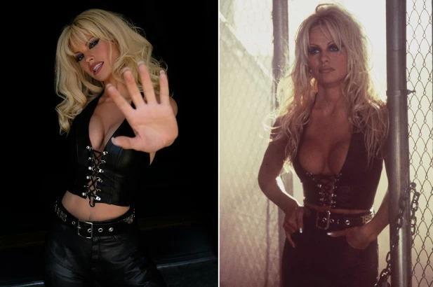 Lily James và Sebastian Stan đóng phim về bê bối lộ băng sex của Pamela Anderson-2