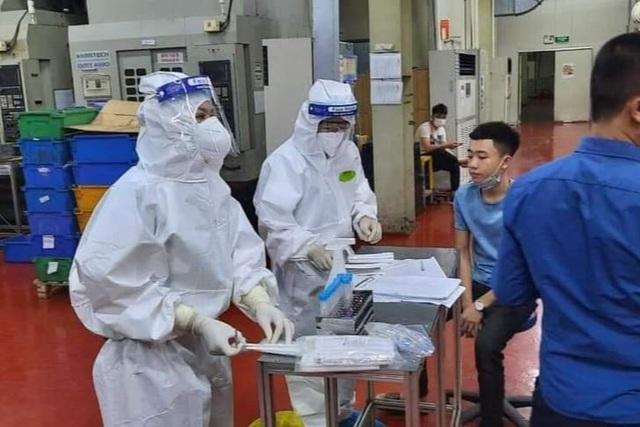Bắc Giang: Công nhân khu công nghiệp dồn dập có kết quả dương tính-1