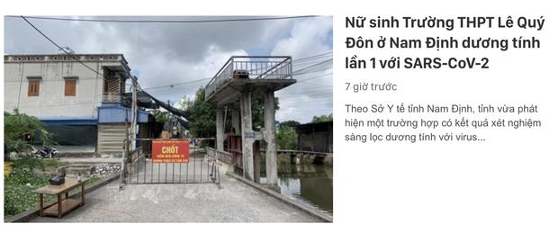 Vũ Khắc Tiệp vừa rời Nam Định đến Đà Lạt, nơi đây truy vết khẩn cấp 179 F1-6