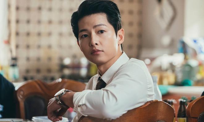Lý do Song Joong Ki bật khóc ở hậu trường phim-1