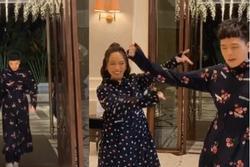 Diện style 'ninja lead' để quẩy, Trịnh Thăng Bình và Diệu Nhi có clip triệu view