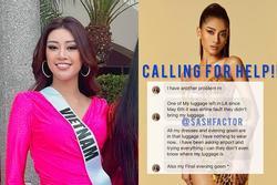 Khánh Vân cứu bạn thi Miss Universe 2020 lúc nguy nan